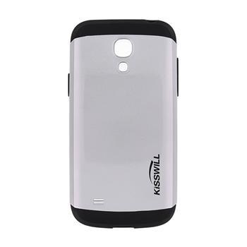 Pouzdro Kisswill Slim Armor pro Samsung S4 mini stříbrné