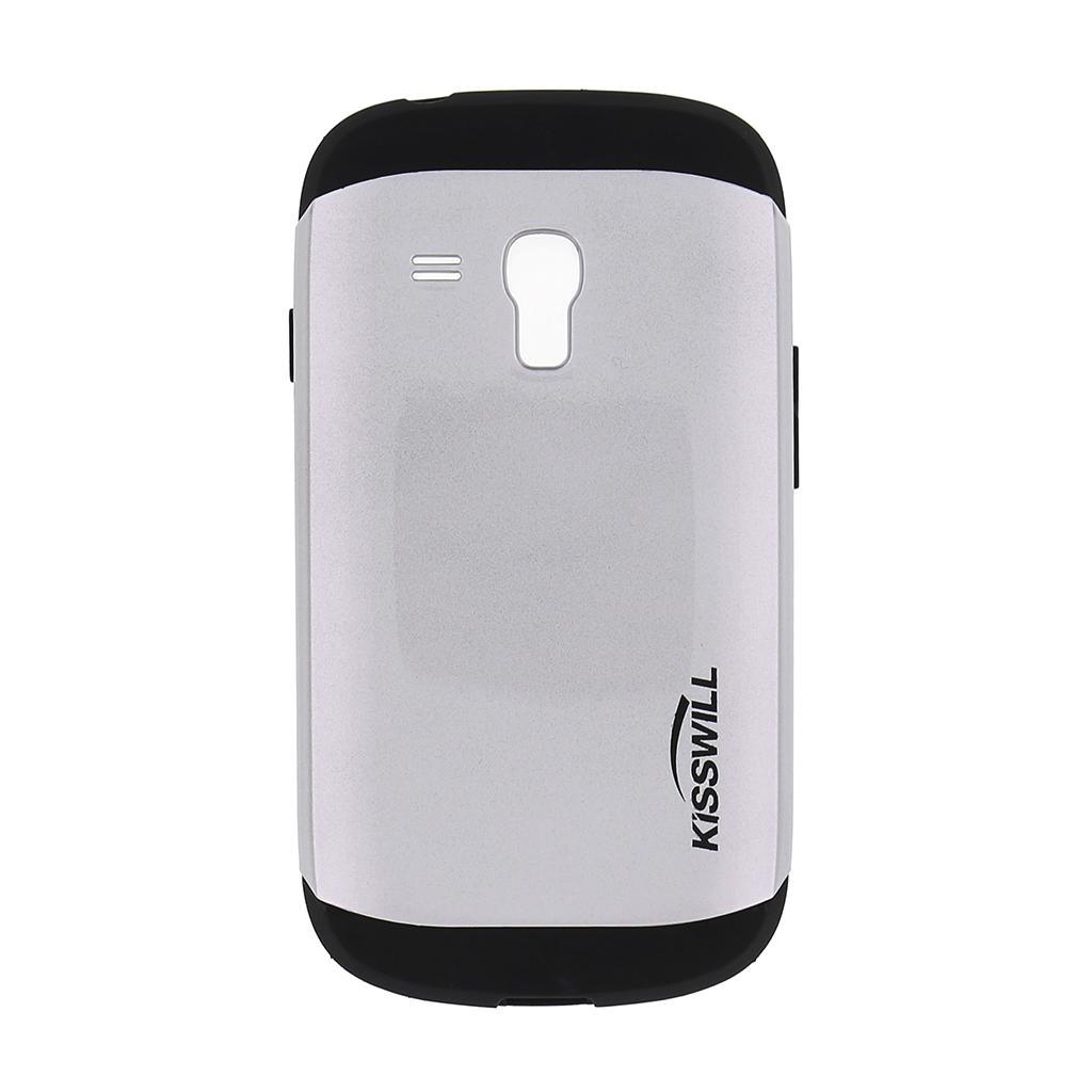 Kisswill Slim Armor Kryt Silver pro Samsung i8200 Galaxy S3mini
