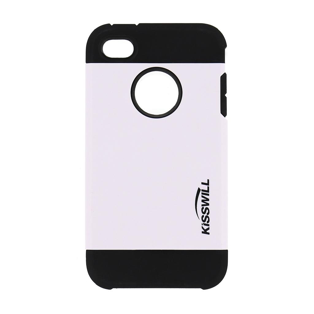 Pouzdro Kisswill Slim Armor pro iPhone 4/4S bílé