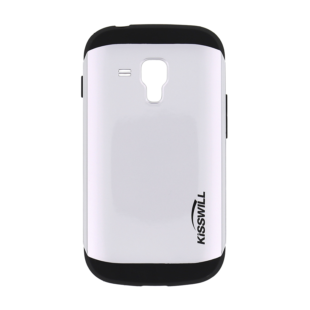 Pouzdro Kisswill Slim Armor pro Samsung Trend S7580 bílé