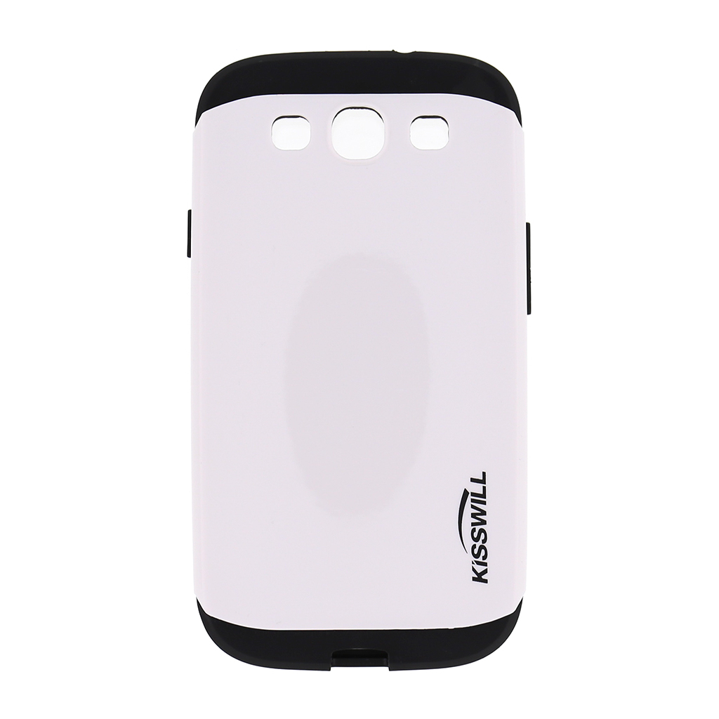 Pouzdro Kisswill Slim Armor pro Samsung Galaxy S3 i9300 bílé