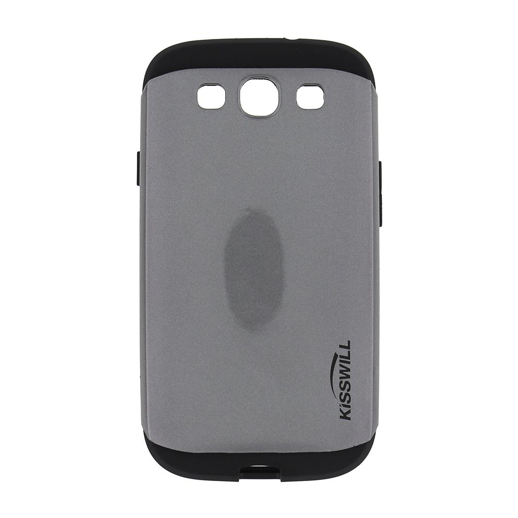 Pouzdro Kisswill Slim Armor pro Samsung Galaxy S3 i9300 šedé