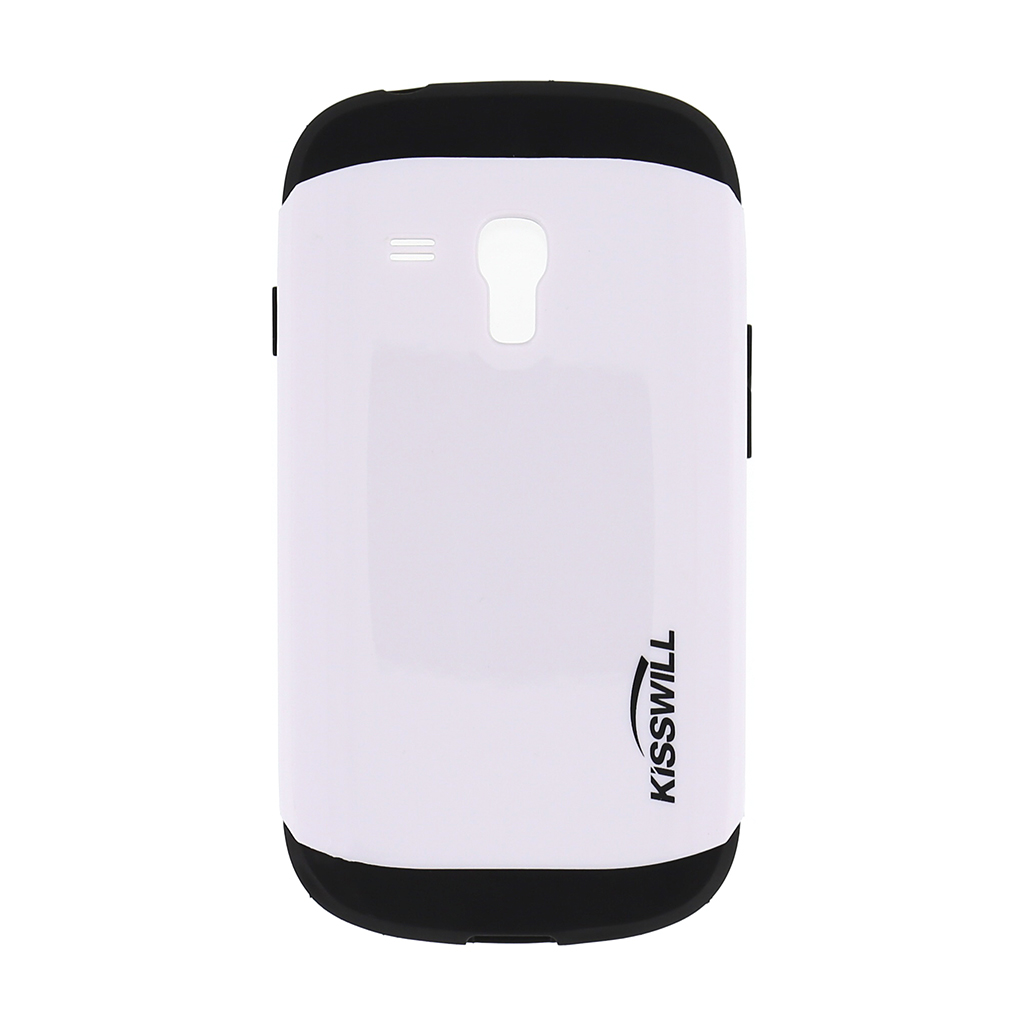 Pouzdro Kisswill Slim Armor pro Samsung S3 mini i8200 bílé