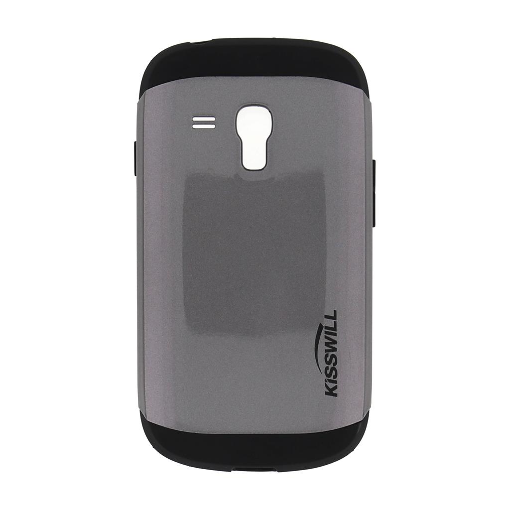 Pouzdro Kisswill Slim Armor pro Samsung S3 mini i8200 šedé
