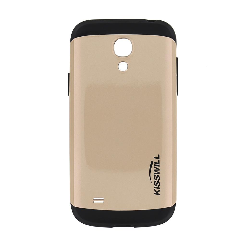 Pouzdro Kisswill Slim Armor pro Samsung S4 mini i9195 zlaté