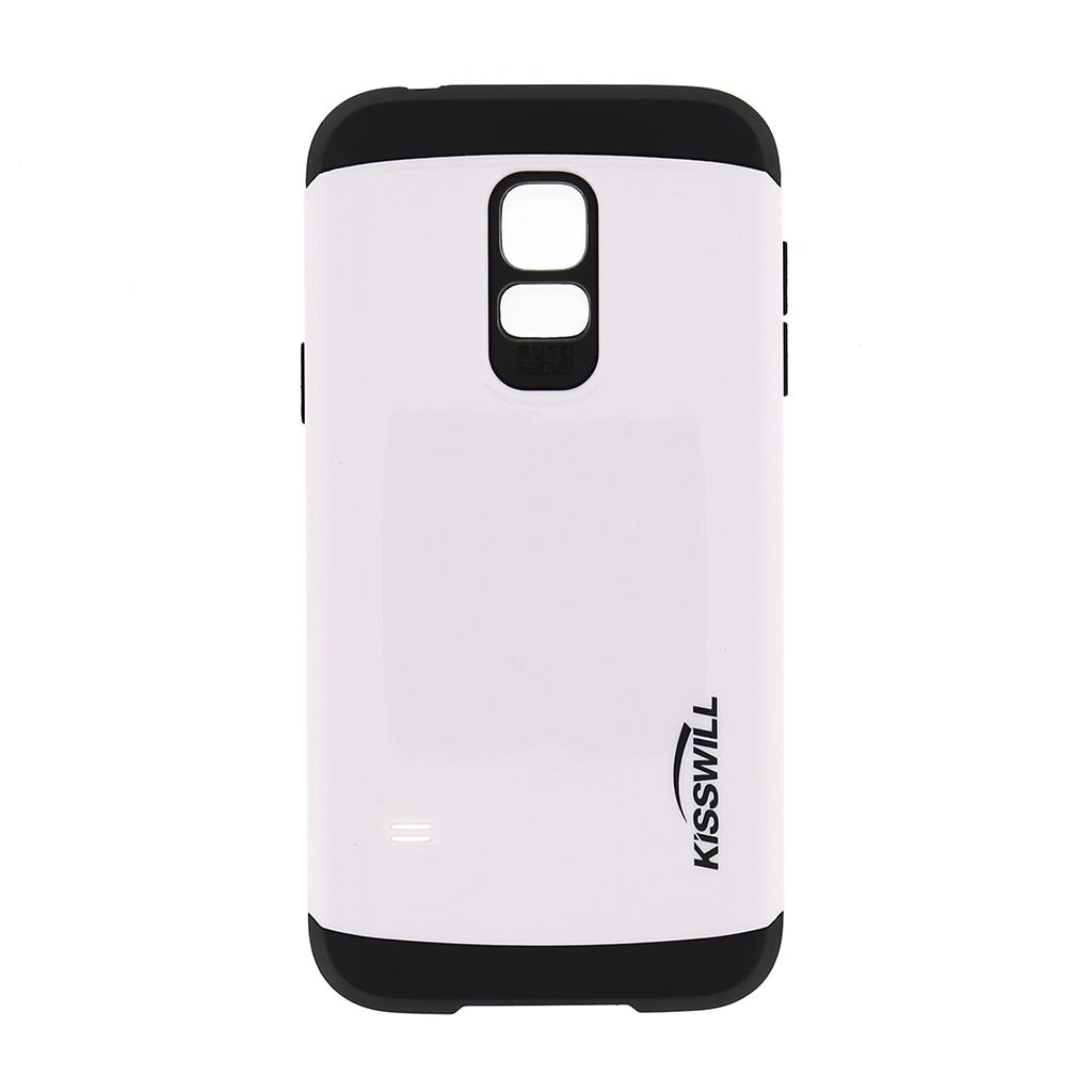 Pouzdro Kisswill Slim Armor pro Samsung S5 G800 mini bílé