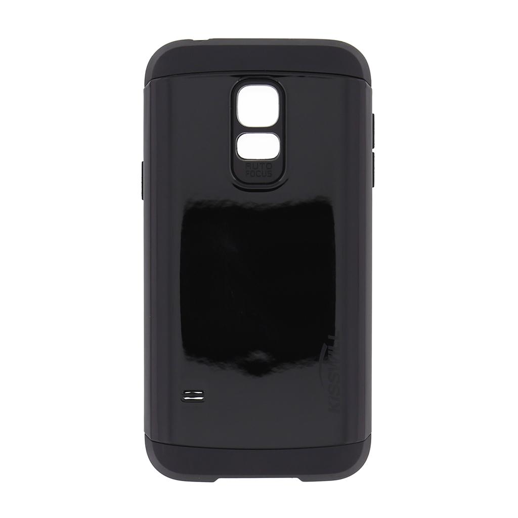 Pouzdro Kisswill Slim Armor pro Samsung S5 G800 mini černé