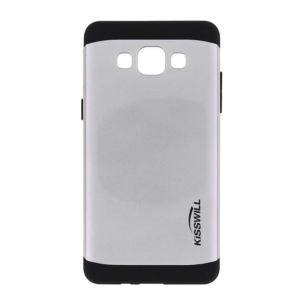 Pouzdro Kisswill Slim Armor pro Samsung Galaxy A5 A500 stříbrné