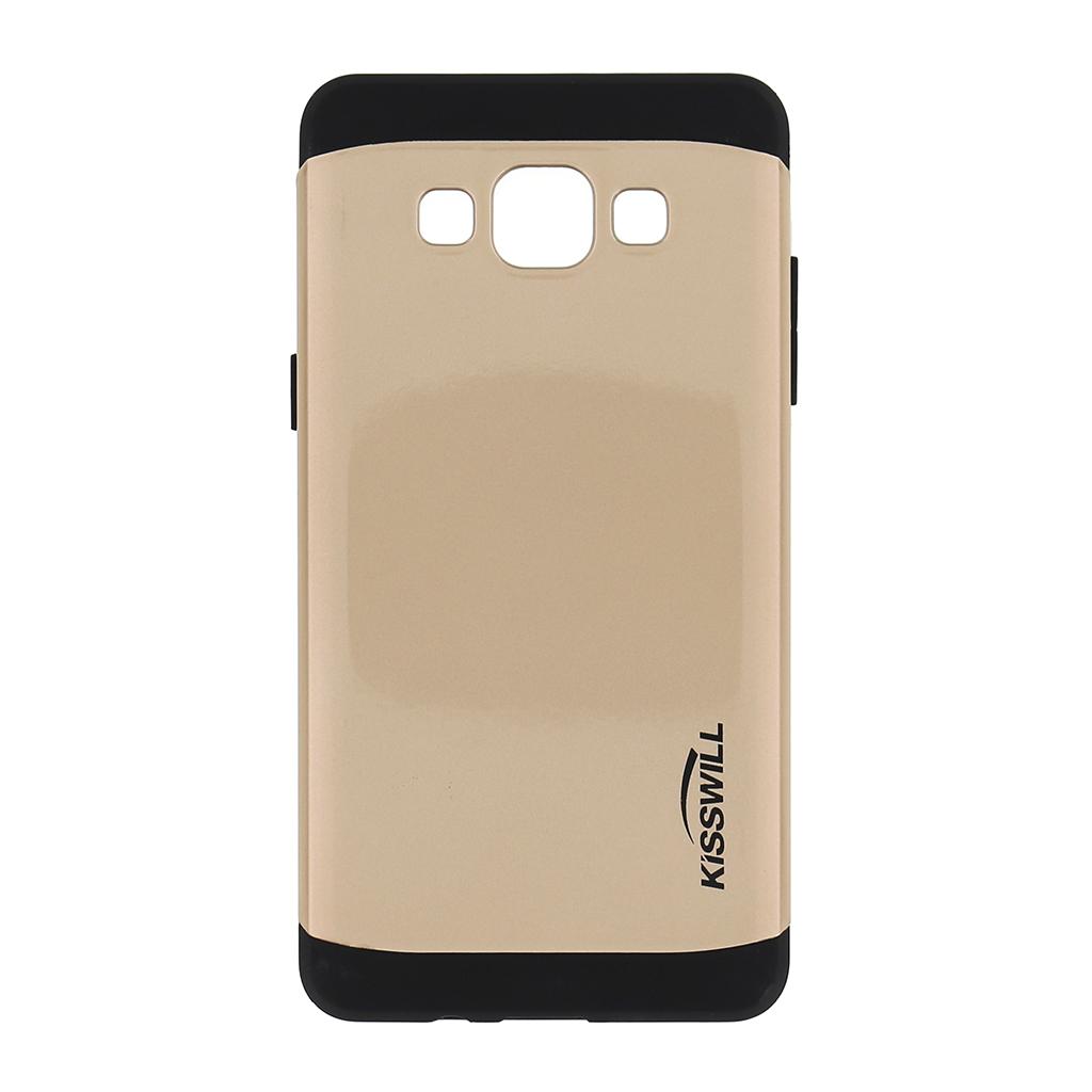 Pouzdro Kisswill Slim Armor pro Samsung Galaxy A5 A500 zlaté