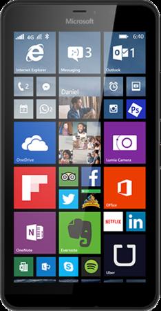 Mobilní telefon Microsoft Lumia 640 XL LTE Black