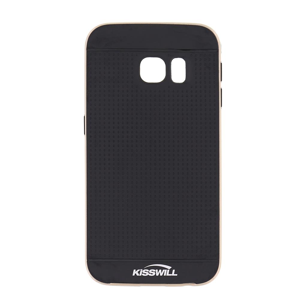 Kisswill pouzdro Bumblebee pro Samsung S6 Edge G925 zlaté