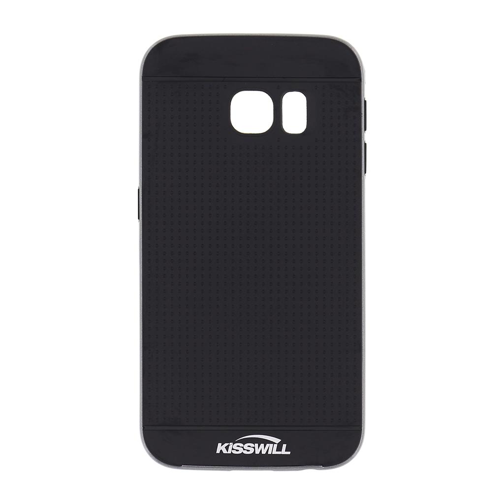 Kisswill pouzdro Bumblebee pro Samsung S6 Edge G925 šedé