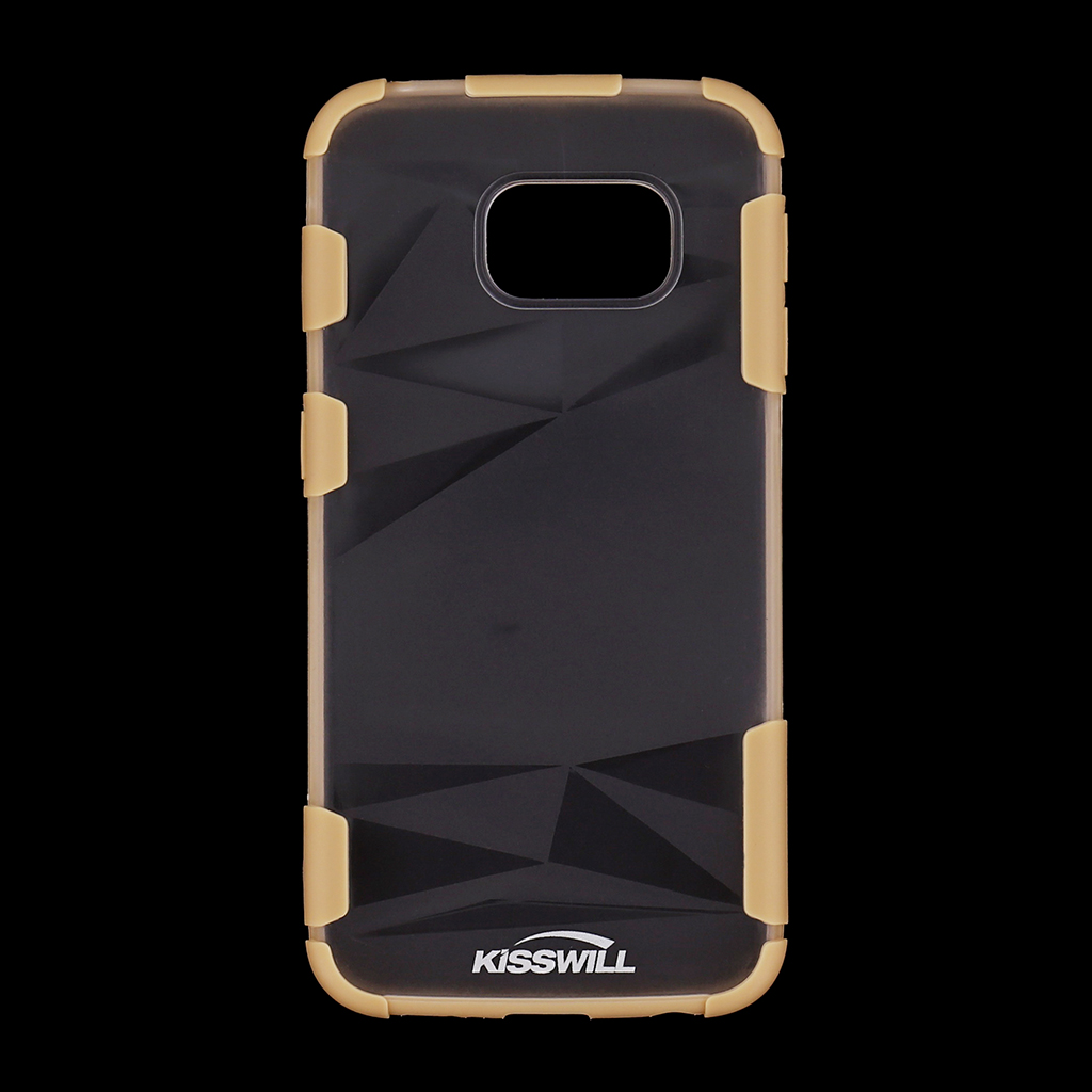 Pouzdro Kisswill Fashion pro Samsung S6 G925 Edge měděné