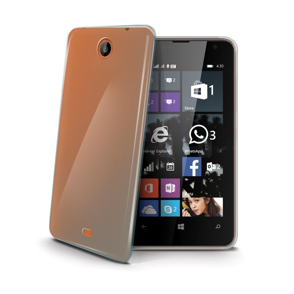 Silikonové pouzdro pro Microsoft Lumia 430 CELLY Gelskin bezbarvé