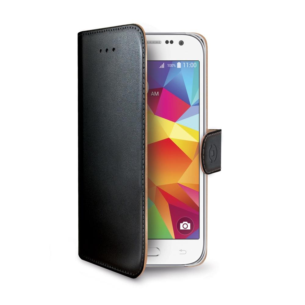 Pouzdro CELLY Wally pro Samsung Galaxy Core Prime černé