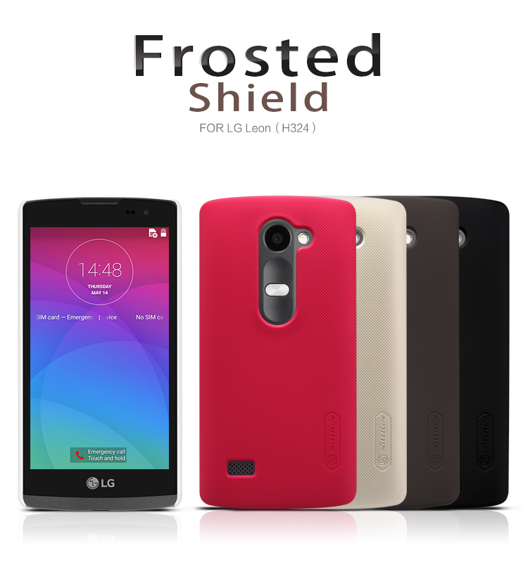 Nillkin Super Frosted zadní kryt pro LG H340n Leon bílý
