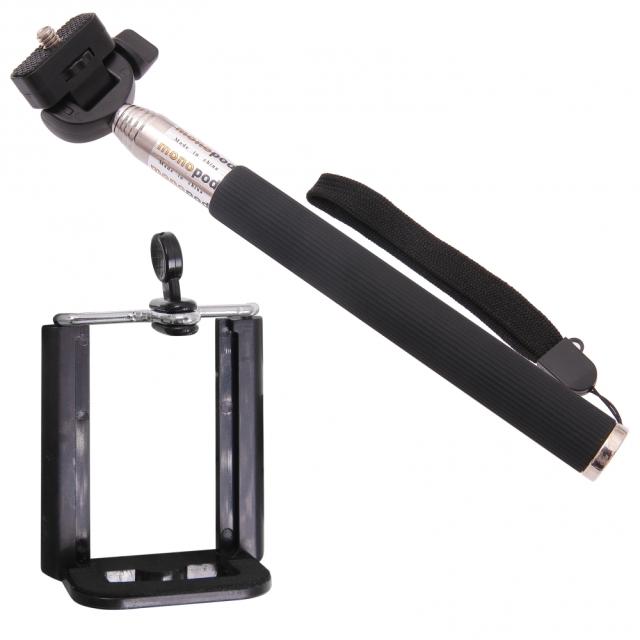 ALIGATOR Selfie držák černý