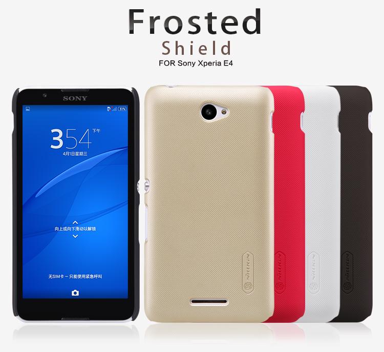 Zadní kryt Nillkin Super Frosted pro Sony Xperia E4 E2105 bílý
