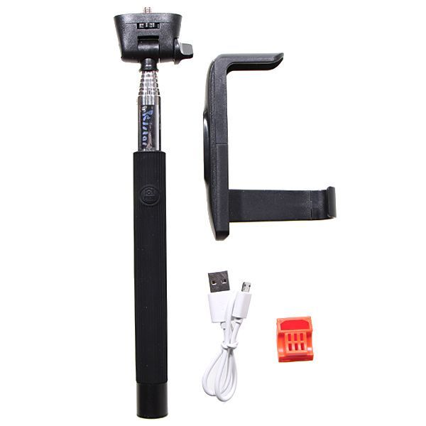 ALIGATOR Selfie držák s Bluetooth Z07-5 černý