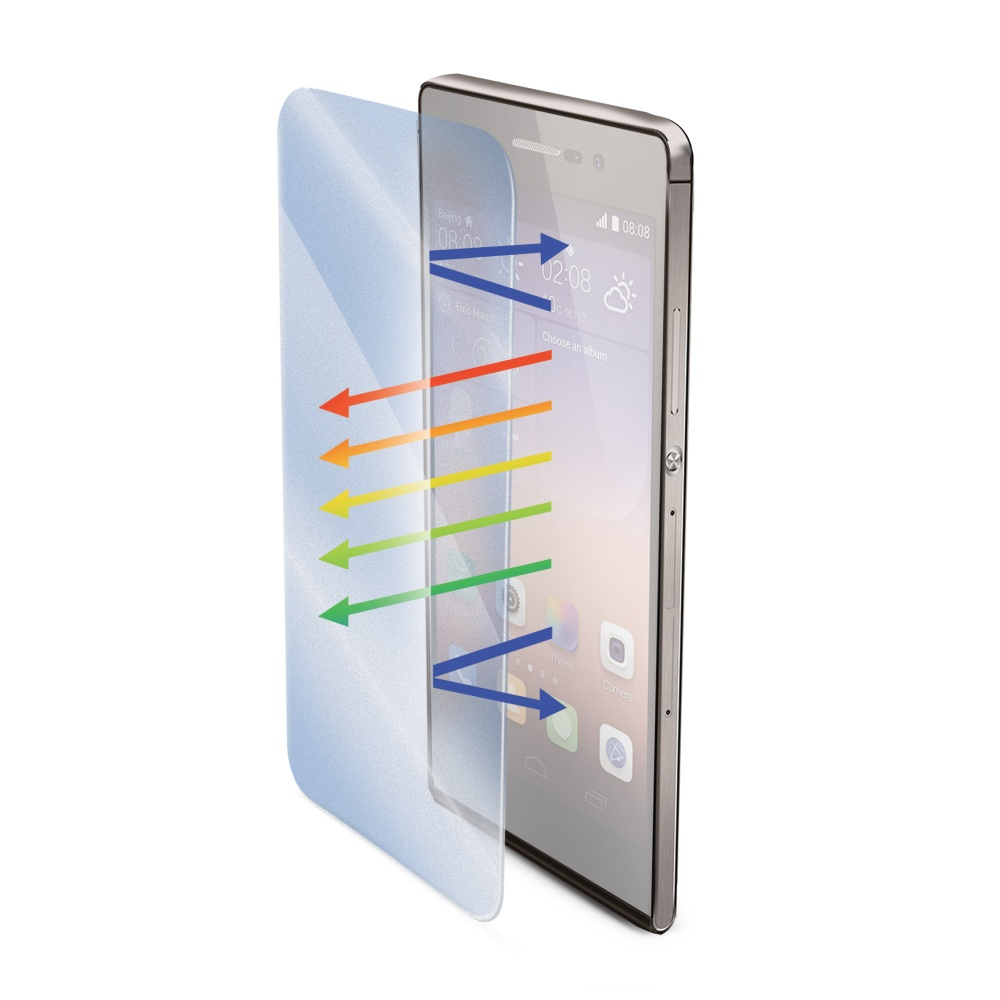 Tvrzené sklo na mobil pro Huawei P8 CELLY Glass