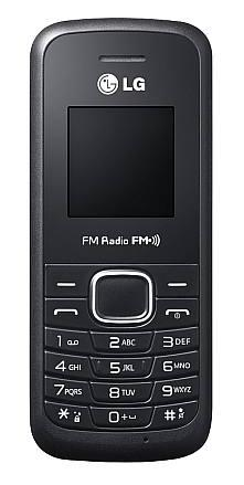 Mobilní telefon LG B200E Black