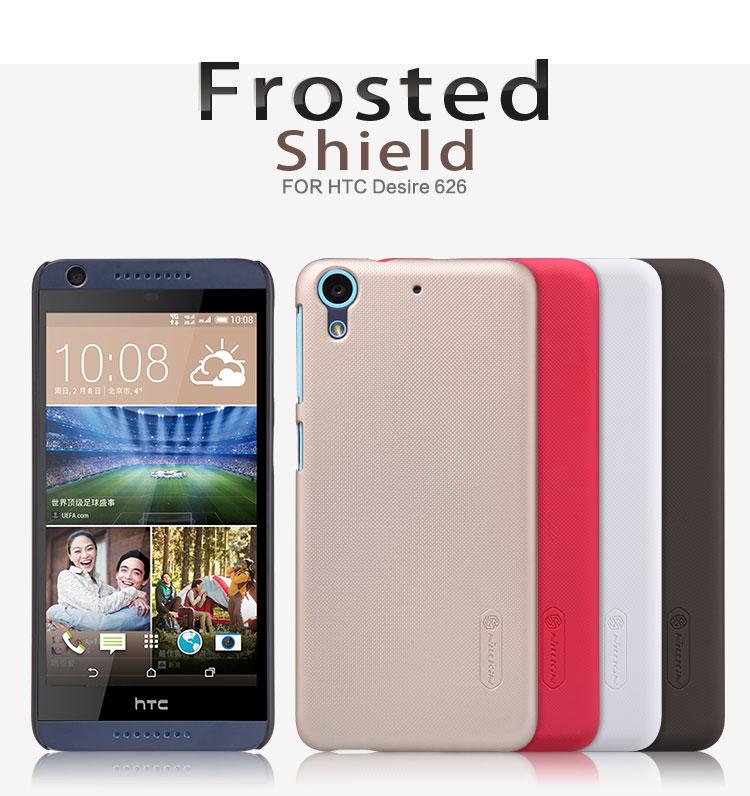 Zadní kryt pro HTC Desire 626, Nillkin Super Frosted černý