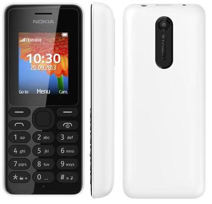 Mobilní telefon Nokia 108 White