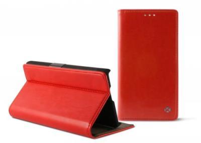 Pouzdro flip pro Sony Xperia M4 Aqua, K6 Folio červené
