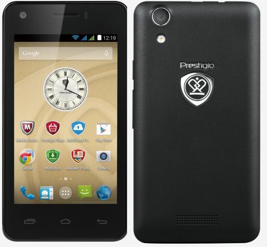 Mobilní telefon Prestigio MultiPhone 3405 DUO Black