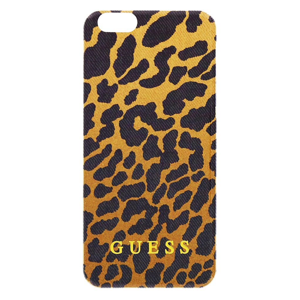 "Zadní kryt na iPhone 6, 4.7"" Guess Printed GUHCP6CHBR Leopard"