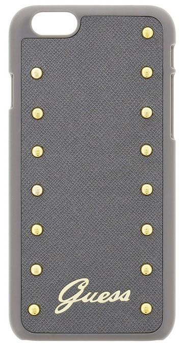 Zadní kryt na Apple iPhone 6 Plus Guess Studded stříbrné