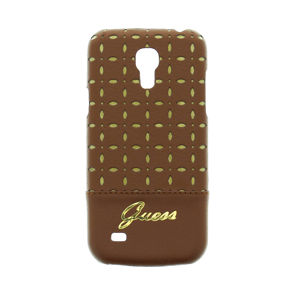 Zadní kryt na Samsung Galaxy S4mini Guess Gianina koňak