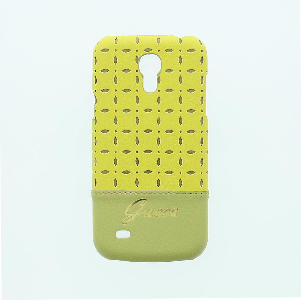 Zadní kryt na Samsung Galaxy S4mini Guess Gianina žluté