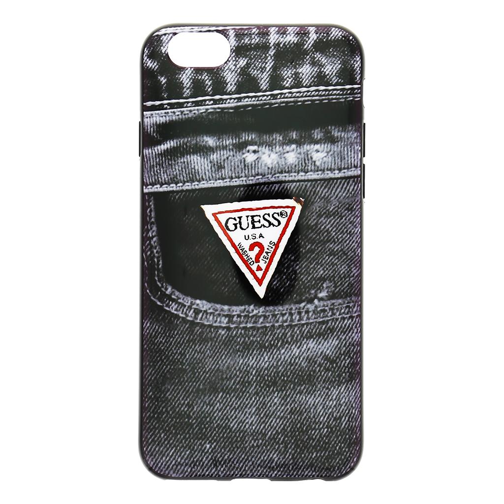 """Pouzdro na mobil iPhone 6, 4.7"""" Guess Jeans GUMHCP6DEBK2 černé"""