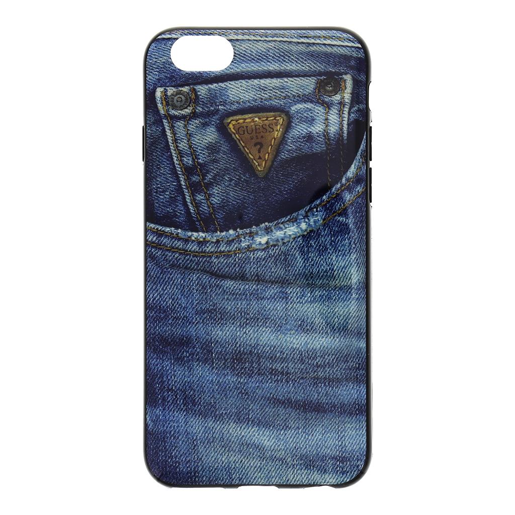 """Pouzdro na mobil iPhone 6, 4.7"""" Guess Jeans GUMHCP6DE modré"""