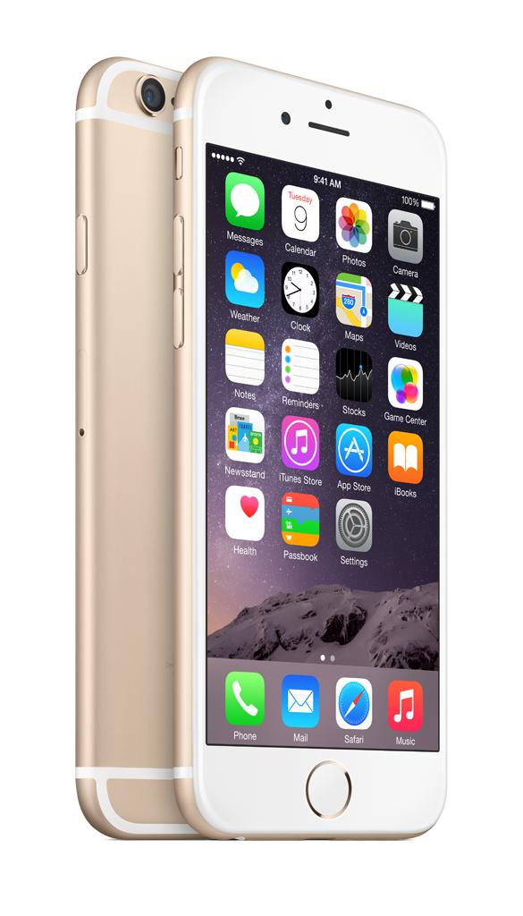 Mobilní telefon Apple iPhone 6 128GB Gold
