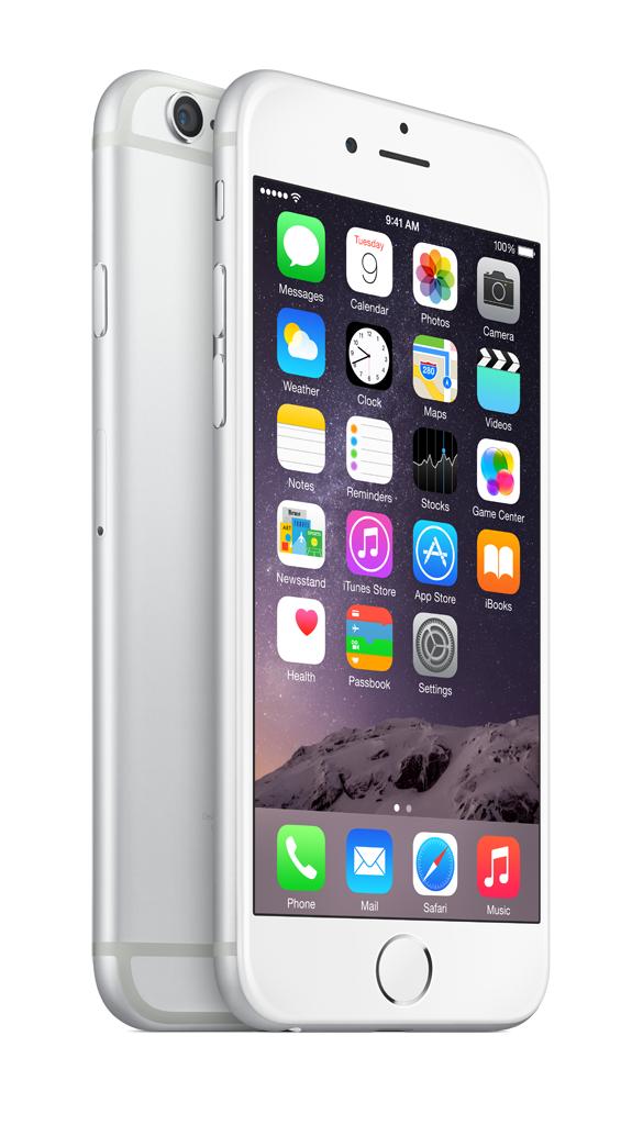 Mobilní telefon Apple iPhone 6 128GB Silver