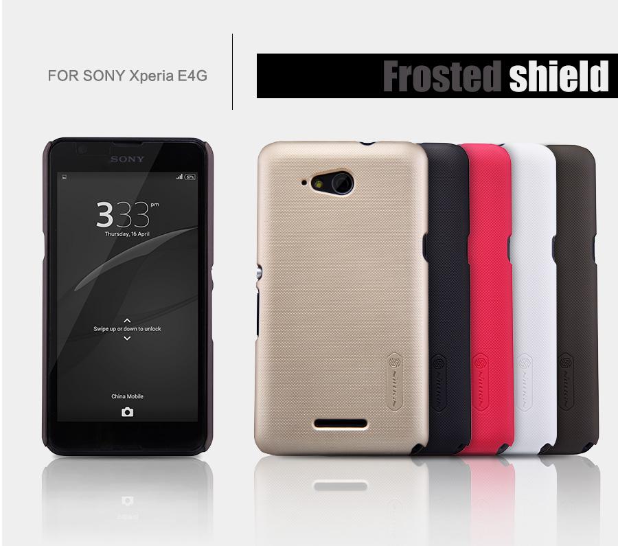 Zadní kryt pro Sony Xperia E4g (E2003), Nillkin Super Frosted černý