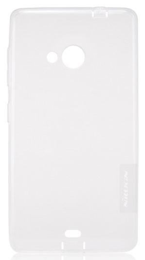 Silikonové pouzdro Nillkin Nature na Lumia 535, čiré