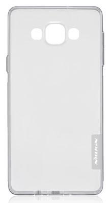 Silikonové pouzdro Nillkin Nature Samsung Galaxy A7 A700 šedé