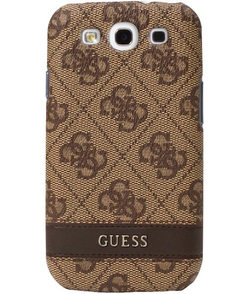 Zadní kryt na mobil Samsung Galaxy S3 Guess hnědé