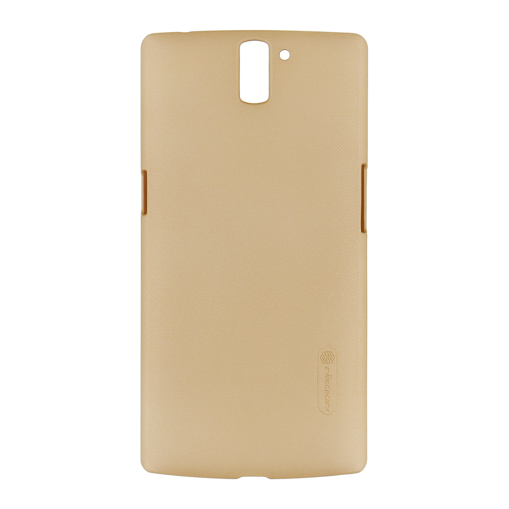 Zadní kryt Nillkin Super Frosted na HTC ONE+ zlatý