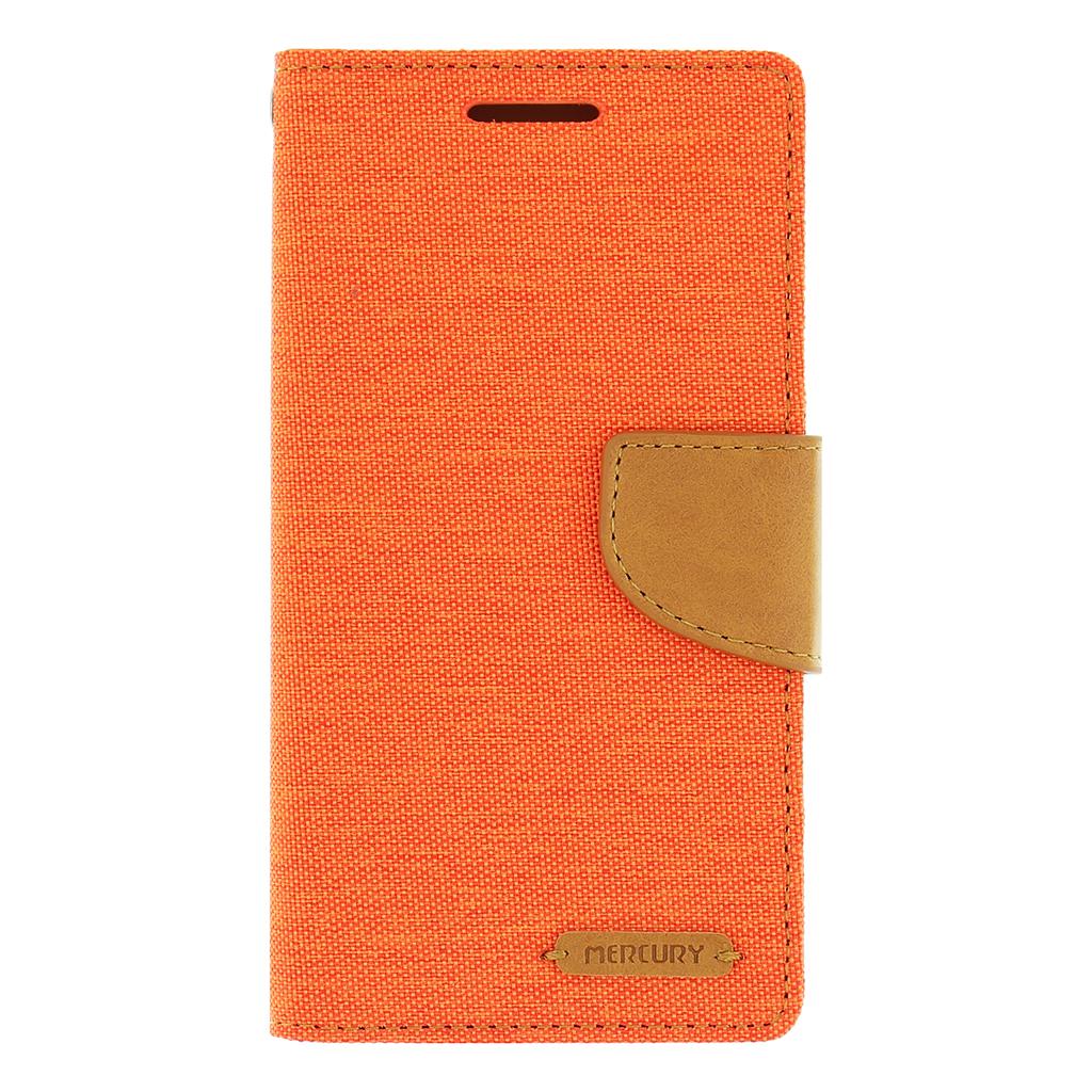 Pouzdro na mobil Samsung Galaxy A5 Mercury Canvas oranžové