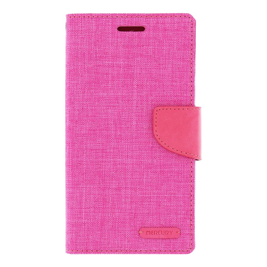 Pouzdro na mobil LG G4 (H815) Mercury Canvas růžové