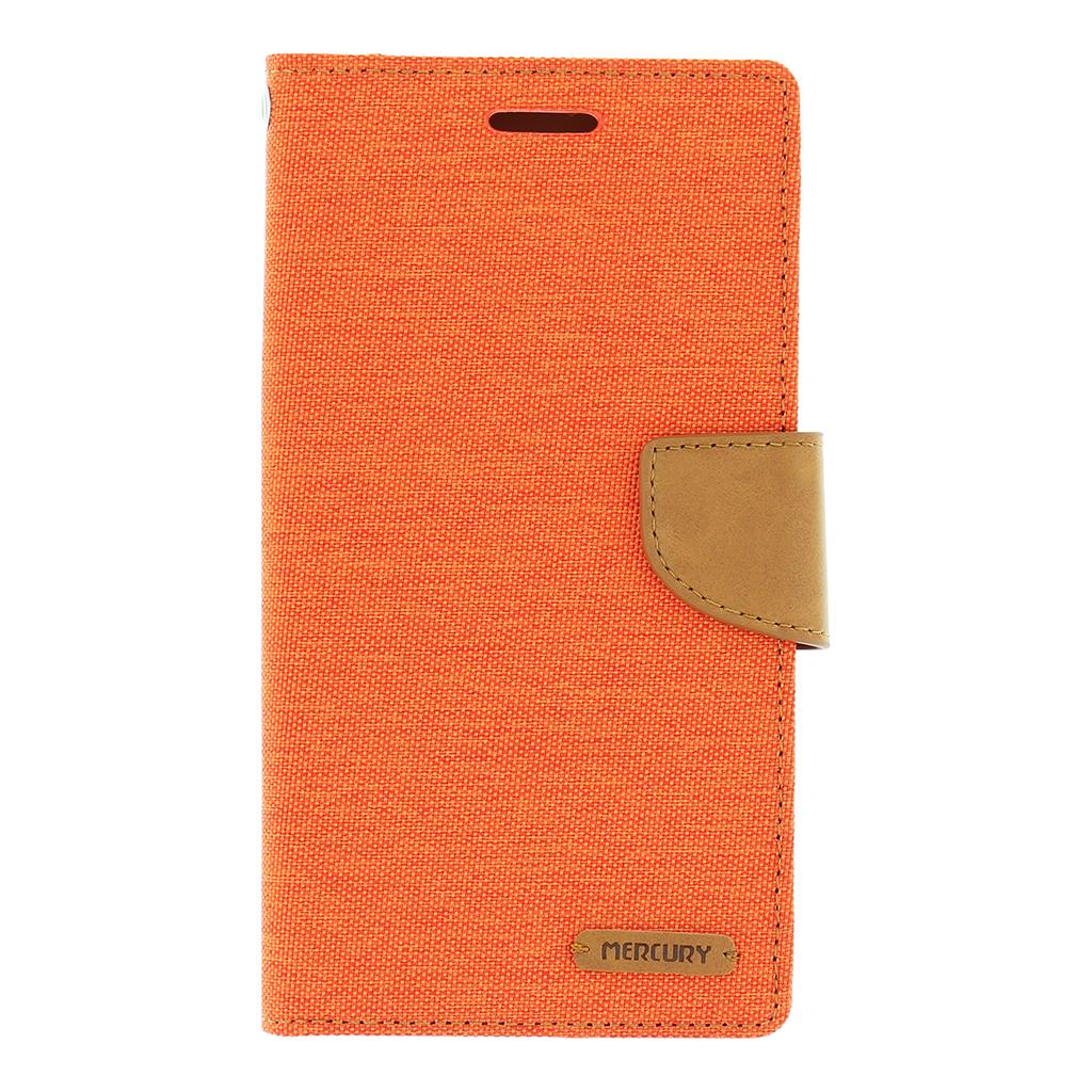Pouzdro na mobil LG G4 (H815) Mercury Canvas oranžové