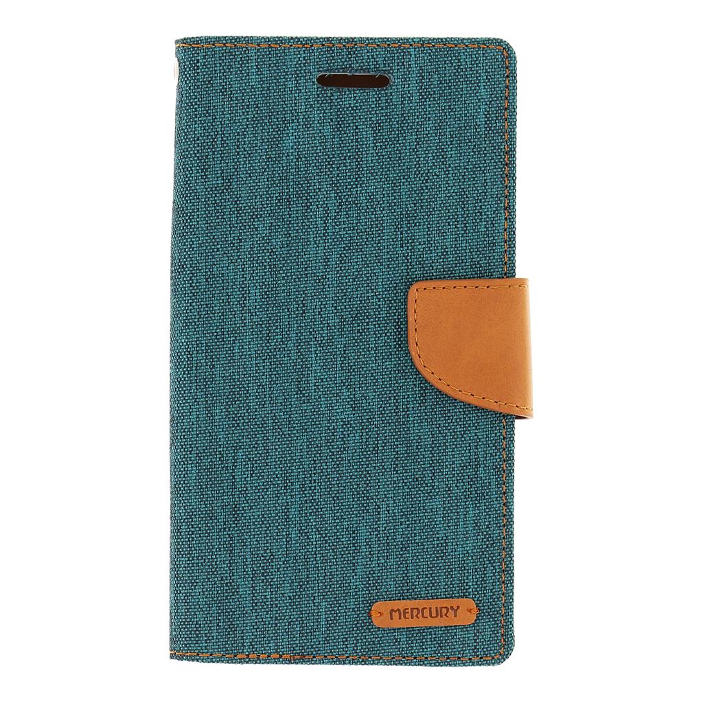 Pouzdro na mobil LG G4 (H815) Mercury Canvas zelené