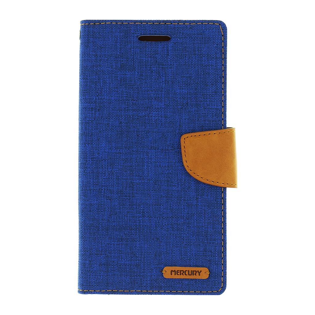 Pouzdro na mobil LG G4 (H815) Mercury Canvas modré