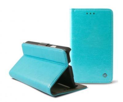 Pouzdro flip na Samsung Galaxy A3 Ksix Folio modré