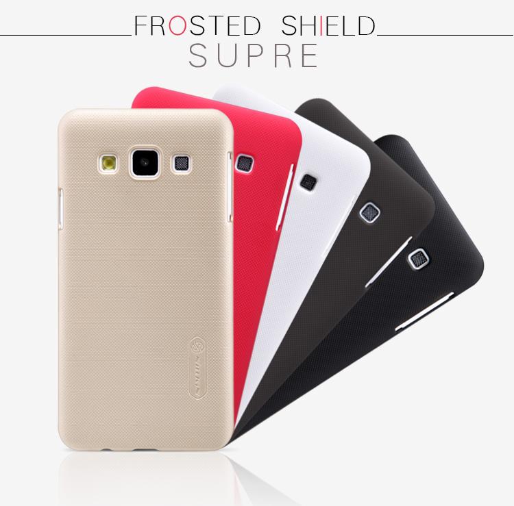 Nillkin Super Frosted zadní kryt pro Samsung Galaxy J1 (J100) červený