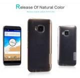 Silikonové pouzdro Nillkin Nature na HTC ONE M9 šedé